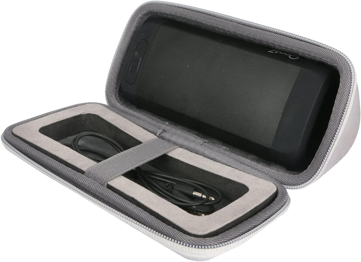 co2crea Hard Travel Case for Cambridge SoundWorks OontZ Angle 3 Ultra//Plus EditionPortable Bluetooth Speaker