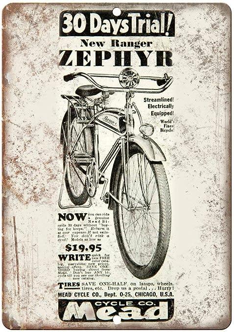 JGHG Rollfast B235 - Cartel metálico de reproducción Vintage ...