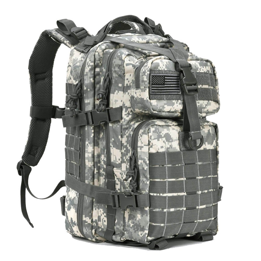Military Tactical Assault Pack Backpack Small Army Molle Bug Bag Backpacks Rucksack for Outdoor Hiking Camping Hunting School 34L ACU by REEBOW GEAR