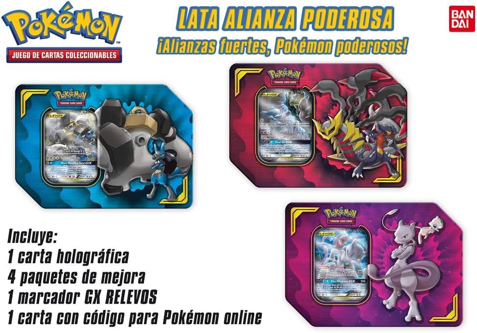 Pokemon- Lata ALIANZA PODEROSA (Bandai PC50050): Amazon.es: Juguetes y juegos