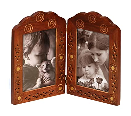 Amazon.com - Double Photo Frame for 4x6 Pictures - Clearance Sale ...