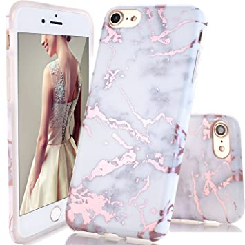 DOUJIAZ Funda iPhone 6 Plus/6s Plus, Funda de Silicona Suave ...
