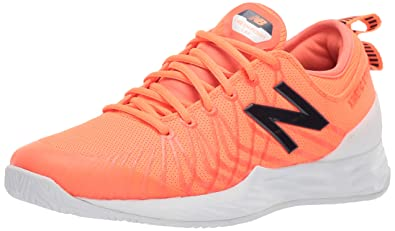 d4bf50255fb07 New Balance Men's LAV V1 Hard Court Tennis Shoe, Dark Mango/Cyclone, 5
