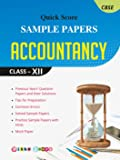 Quick Score Sample Papers Accountancy Class - XII