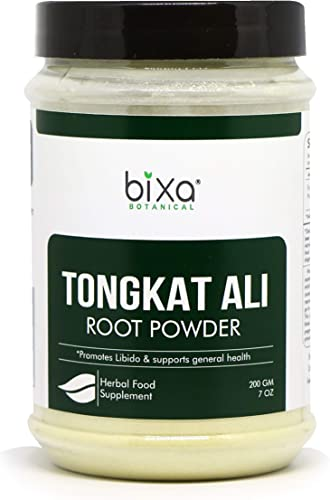 Tongkat Ali Root Powder Eurycoma longifolia Long Jack Libido Supports General Health 7Oz 200g Bixa Botanical