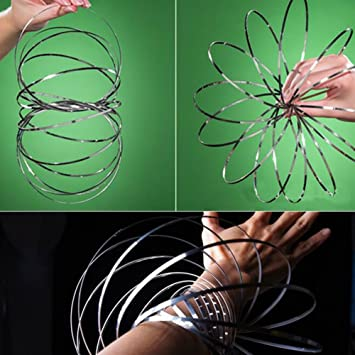 Toys & Hobbies Fidget Spinner Kinetic Spring Amazing Flow Ring Toys Funny Outdoor Game Intelligent Toy Fidget Spinner Metal Toy Sales Of Quality Assurance