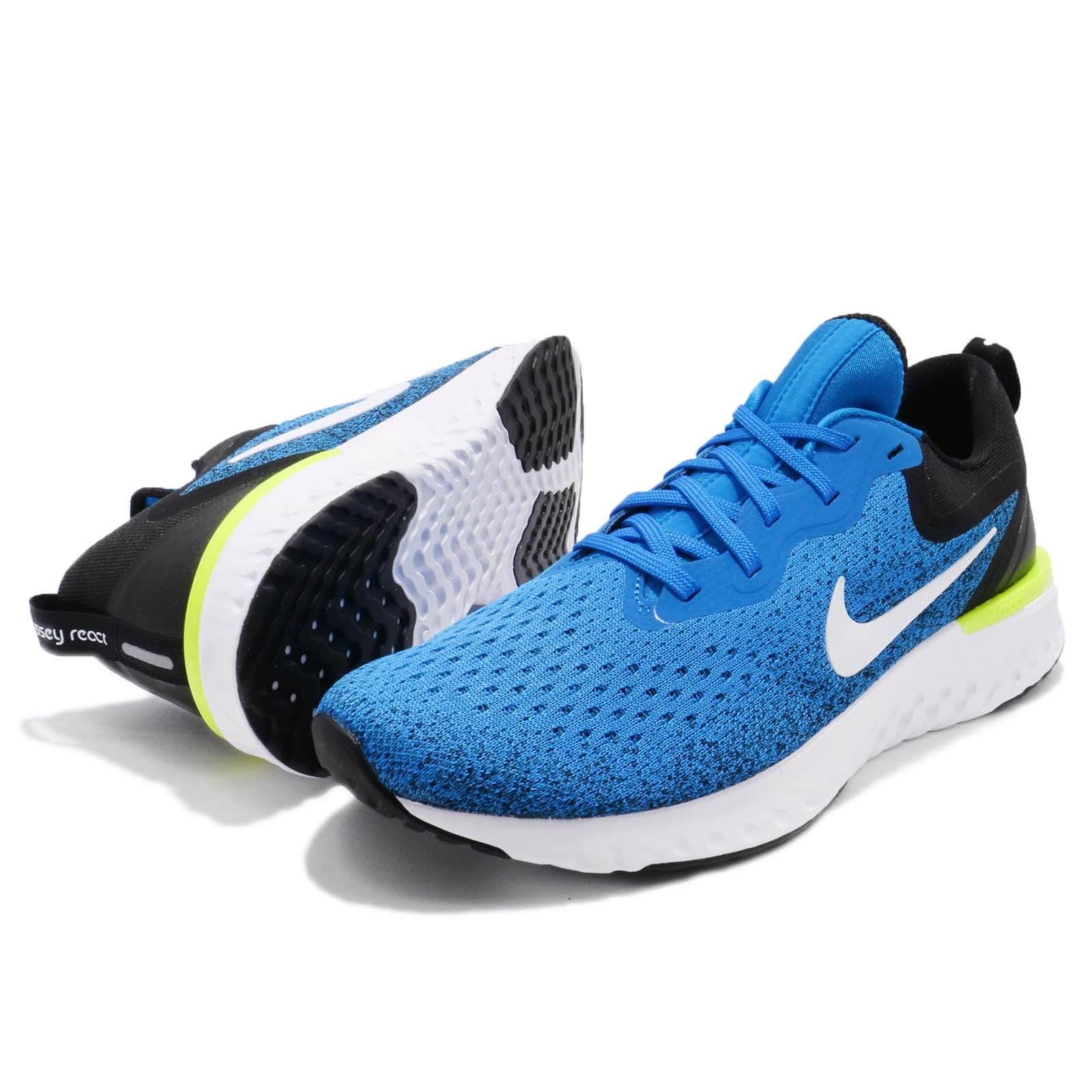 Nike Men's Odyssey React Running Shoes (7.5, Photo Blue/Black) by Nike (Image #6)