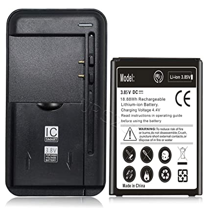 [LG Fortune Battery Combo Pack] Accessory 2600mAh Rechargeable Grade A+ Battery Intelligent USB Travel Charger for Cricket LG Fortune M153 Phone ...