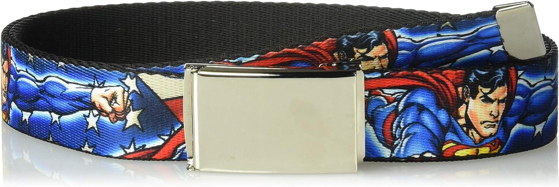 Buckle-Down Web Belt Superman 1.25