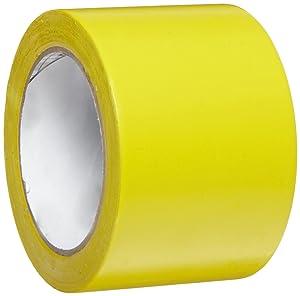 3M General Purpose Vinyl Tape 764, Yellow, 3 in x 36 yd, 5 mil