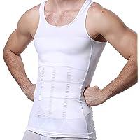 Camiseta Interior Deportiva para Reducir Tallas en el Torso, Faja de Compresión Modeladora de Abdomen para Hombre, Ideal para Corregir la Postura