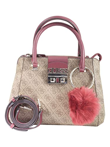 fa8f665dd9343 Guess Logo Luxe Small Society Brown  Amazon.fr  Chaussures et Sacs