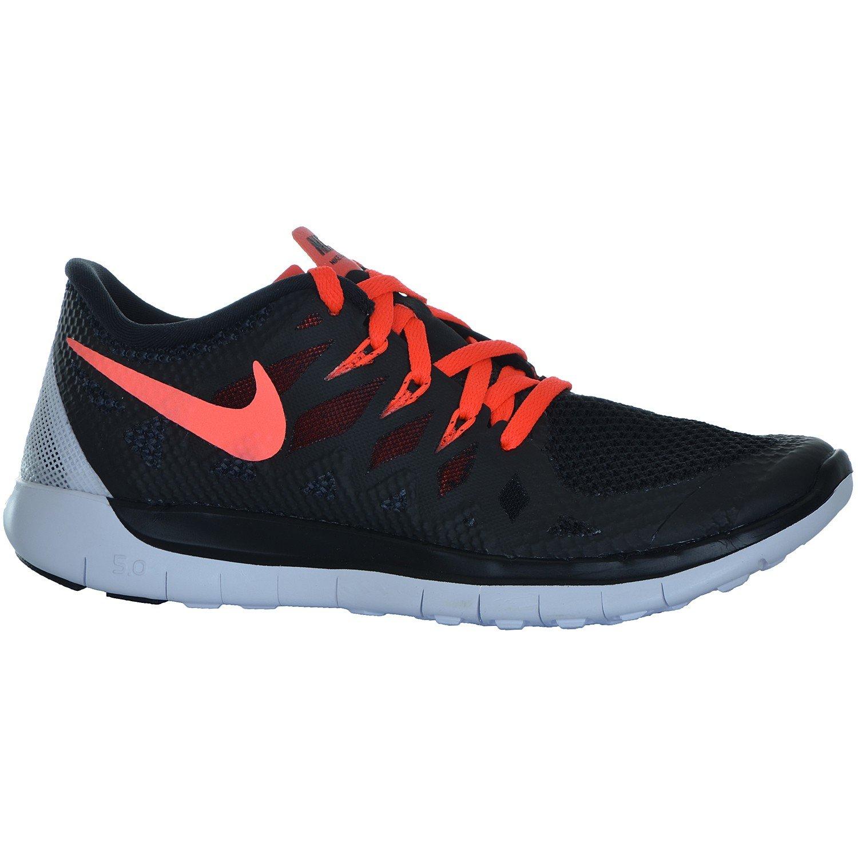 Nike Free 5.0 (GS) Laufschuhe black-bright crimson-white - 36