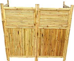 Superbe Master Garden Products 4 Panel Bamboo Screen Enclosure, 24 By 48 Inch