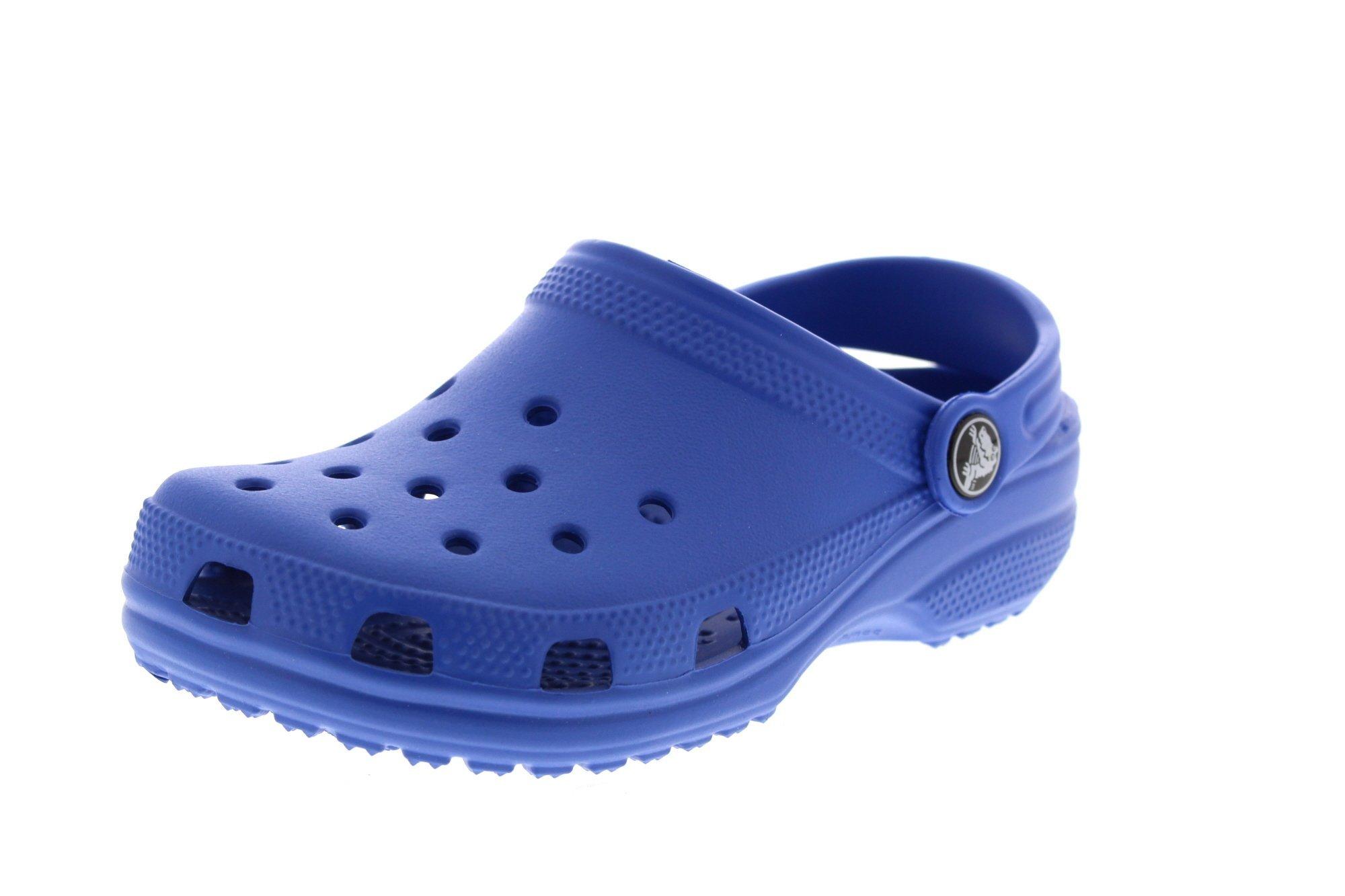 crocs Littles Classic K Clog  ,Sea Blue,2-3 M US Infant