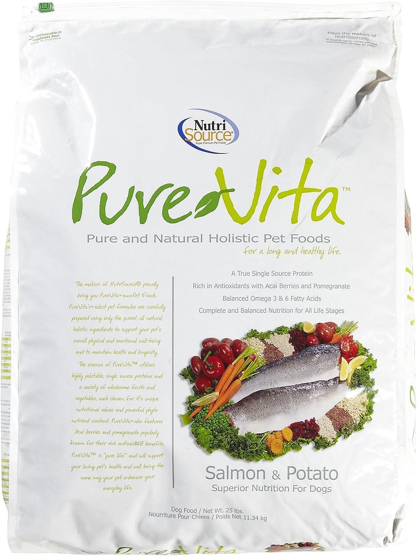 Salmon And Potato Dry Dog Food Size: 25-Lb Bag