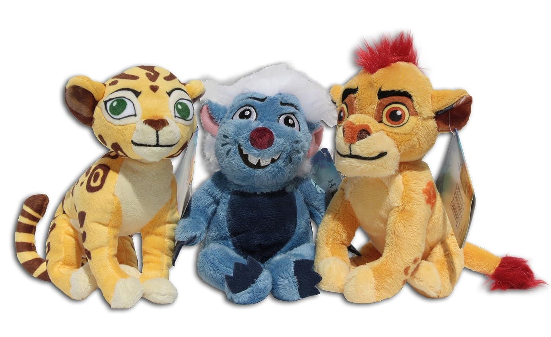 Kion, Fuli y Bunga Pack 3x Peluches 17cm La Guardia del León Rey Gueparda Ratel Muñeco Peluche Super Suave Gran Calidad Película Disney Junior Nuevo The ...