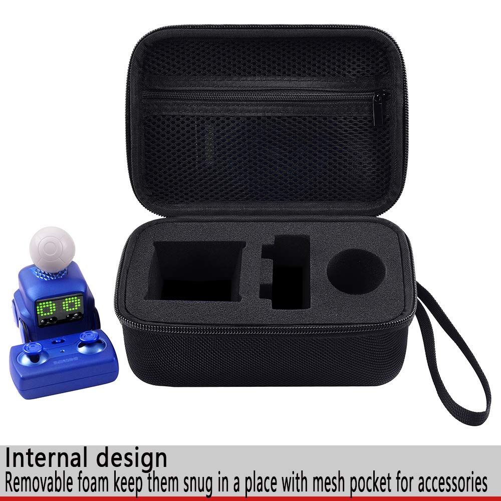 COMECASE Hard Travel Storage Case for Boxer - Interactive A.I. Robot Toy Personality and Emotions, Black by COMECASE (Image #2)