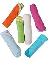 Carters Daily Use Wash Cloth Set - 6 Pcs, 0M+