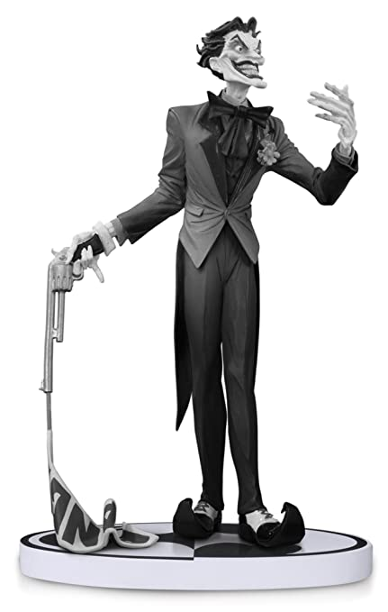 amazon com dc collectibles batman black and white the joker by