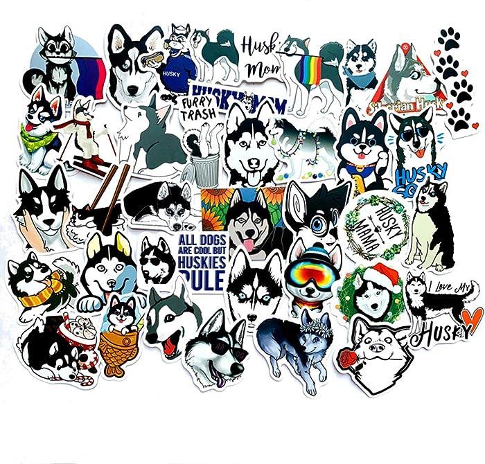 Top 9 Husky Laptop Stickers