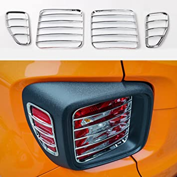 Chrome Rear Taillight Cover Trims for 2016 2017 Chevrolet Camaro Accessories