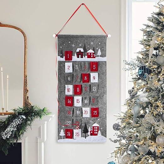 s Countdown To Christmas 2020 Amazon.com: S DEAL Gray Christmas Advent Calendar 2020 Countdown