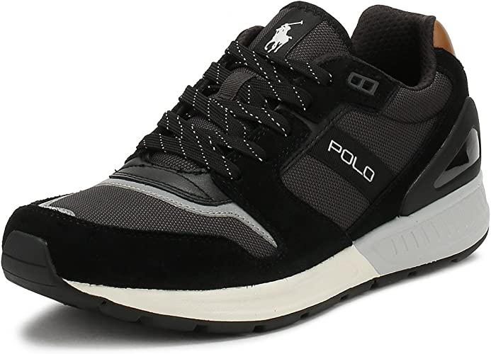 Ralph Lauren Zapatillas Polo Train 100 - Color - Negro, Talla - 40 ...