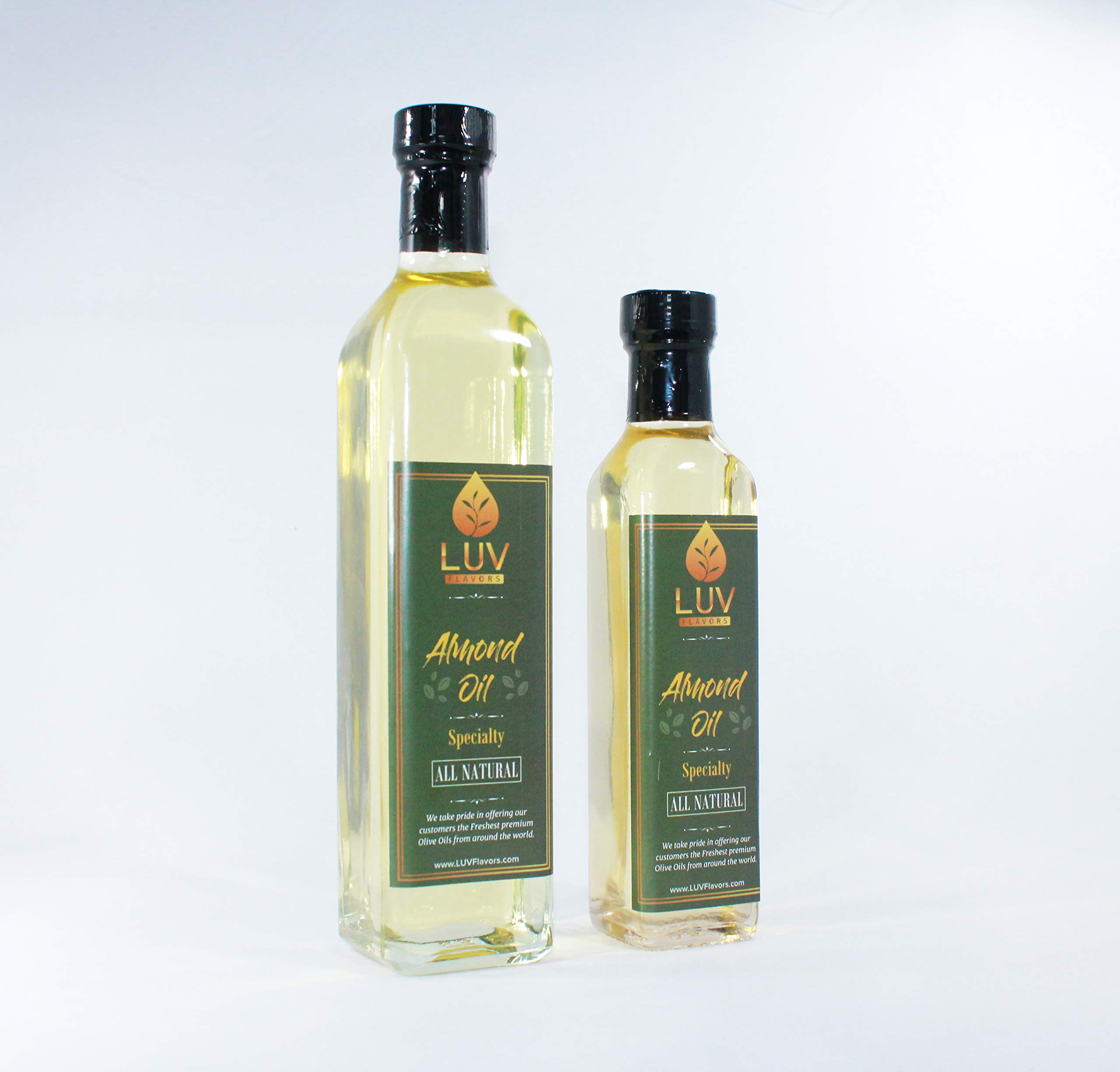 Almond Oil Expeller Pressed (250 ml) by LUV Flavors