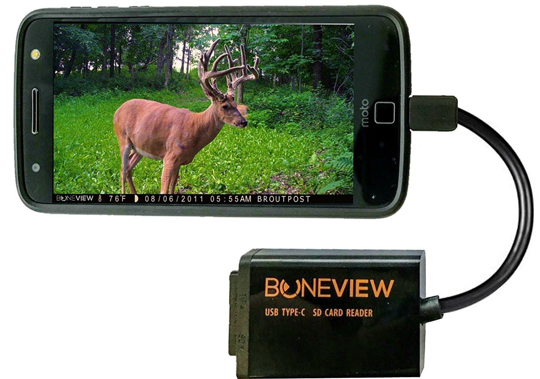 boneview Trail Cámara Visor para tipo C Reversible USB ...