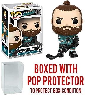 Amazon.com: Bret Quemaduras [San Jose Sharks]: Funko POP. x ...