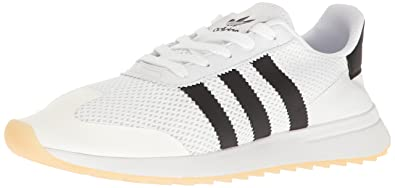 Adidas Women's Flashback Fashion Sneakers, White/Black/White, ...