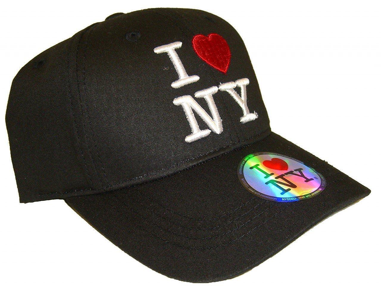 b0590560a Amazon.com: I Love NY Cap - Color: Black: Clothing