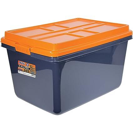 Hefty HI-RISE PRO Heavy Duty Storage Bins 72 Qt. Latch Storage Box  sc 1 st  Amazon.com & Amazon.com: Hefty HI-RISE PRO Heavy Duty Storage Bins 72 Qt. Latch ...