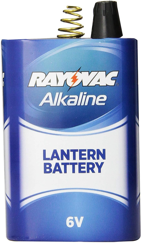 Rayovac Alkaline Lantern Batteries 6V Spring Terminal (30 Pack) by Rayovac