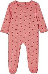 bb406ade0375c VERTBAUDET Lot de 3 pyjamas bébé en coton pressionné dos Framboise 6M - 67CM