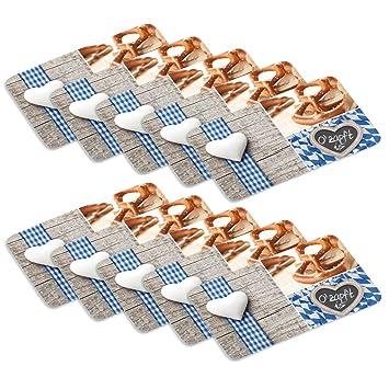 KESPER Dekor-Schneidebrettchen BAYRISCH aus Melamin Brotbrett Stullenbrett