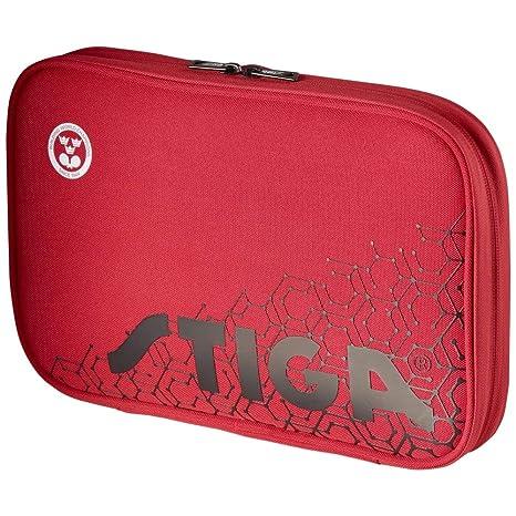38ce63cb1f50 Amazon.com   Stiga Reverse Single Wallet Table Tennis Bag Red Black    Sports   Outdoors