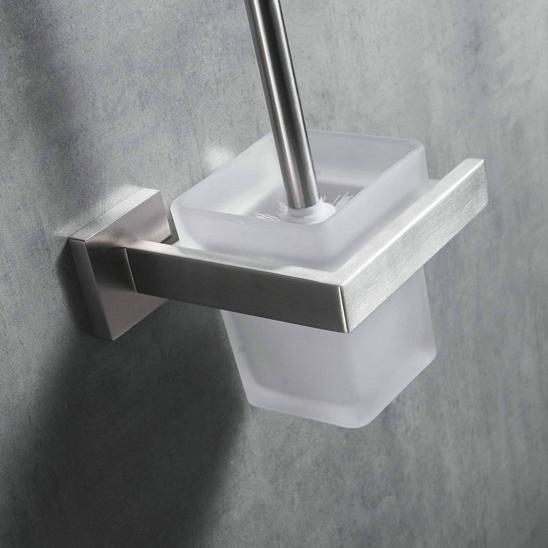 60 cm Toallero de Pared Acero Inoxidable Cepillado//Mate Kelelife Toallero Ba/ño