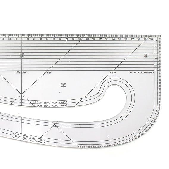 Regla magn/ética para tartas y fotos Blanco 1 5 x 5 cm
