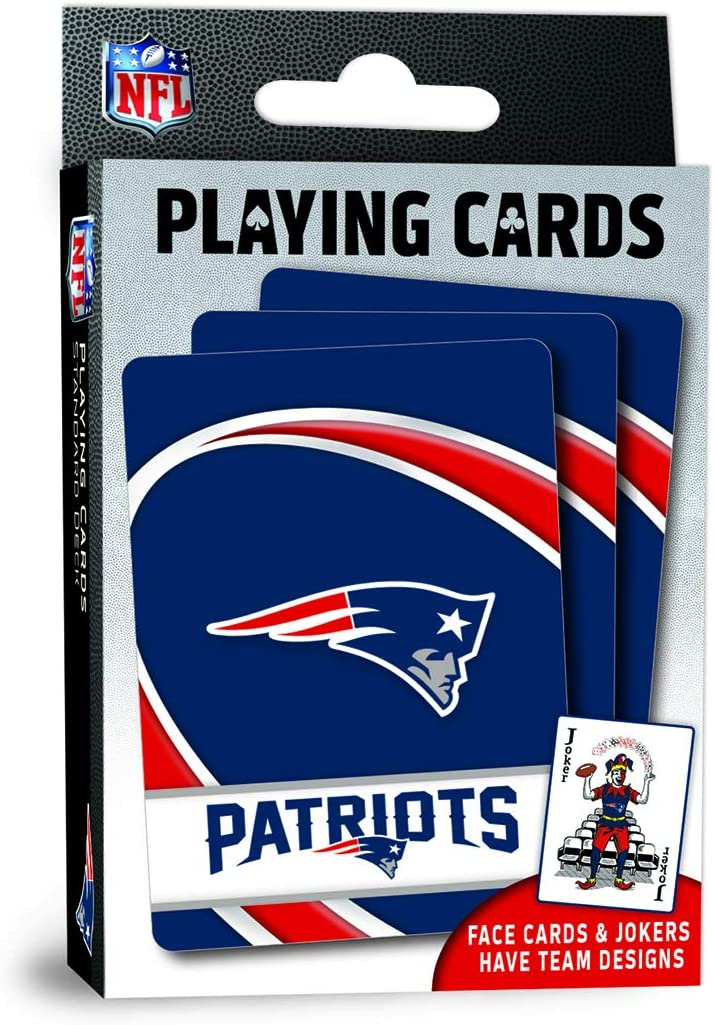 MasterPieces NFL New England Patriots Playing Cards