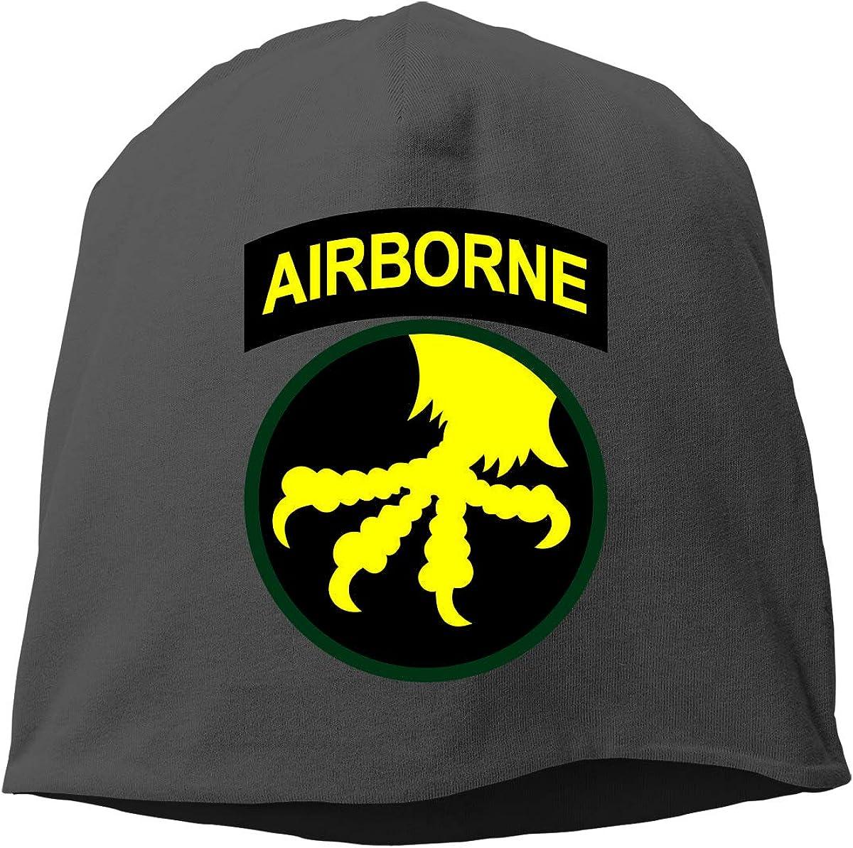 17th Airborne Division Unisex Knitted Hat Beanie Hat Warm Hats Skull Cap Beanie Hat