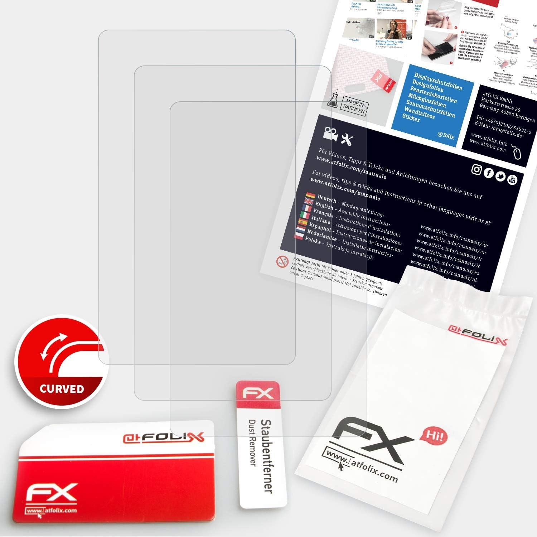 3X entspiegelnde und Flexible FX Displayschutzfolie atFoliX Schutzfolie kompatibel mit Sony Walkman NW-A35 Folie