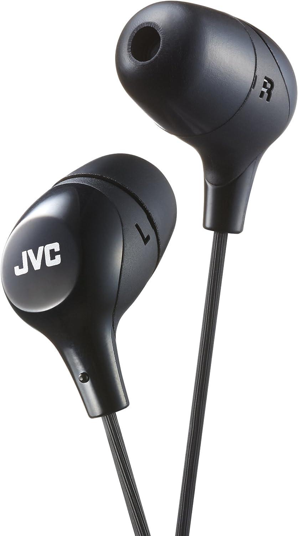 JVC HA-FX38-B-E Auriculares cómodos y seguros (Intraaural, Dentro ...