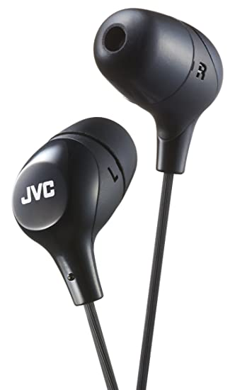 JVC Marshmallow In-Ear Headphones Tangle Free Earphones: Amazon.co