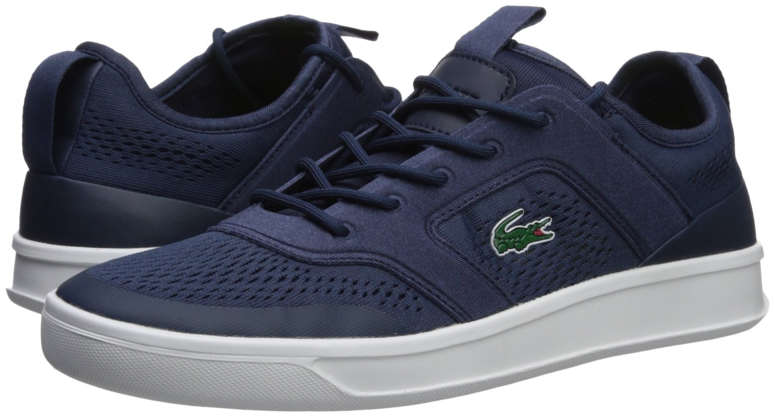 Lacoste Men's Explorateur Sport Sneaker, Navy, 9.5 M US by Lacoste (Image #6)