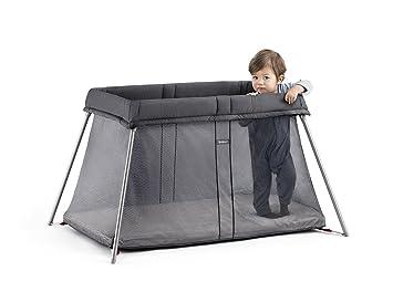 Baby Cribs Sensible Babybjorn Travel Cot Black Modern Design