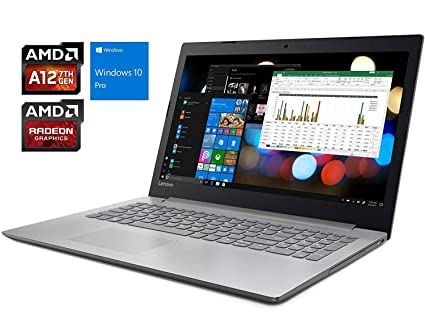 "Lenovo Ideapad 320 15.6"" HD Notebook, AMD Quad-Core A12-9720P 2.7"