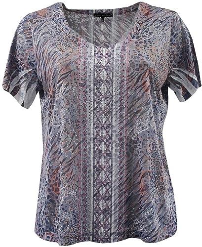 Women's Plus-Size Short Sleeve T-Shirt Blouse Tee Shirt Top Fashion Clothing