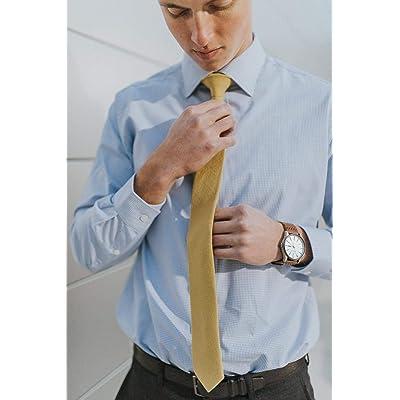 Men/'s Solid Black Classic Ties Regular Neckties Great for Weddings Dances Missions Groomsmen Gifts